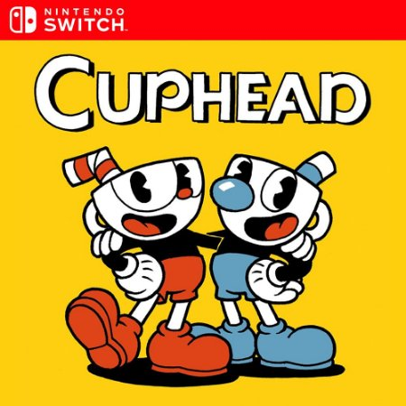 Cuphead - Nintendo Switch Mídia Digital