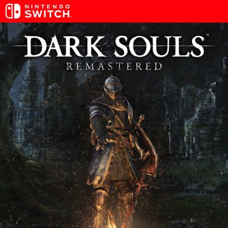 Dark Souls Remastered - Nintendo Switch Mídia Digital