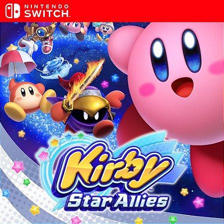Kirby Star Allies - Nintendo Switch Mídia Digital