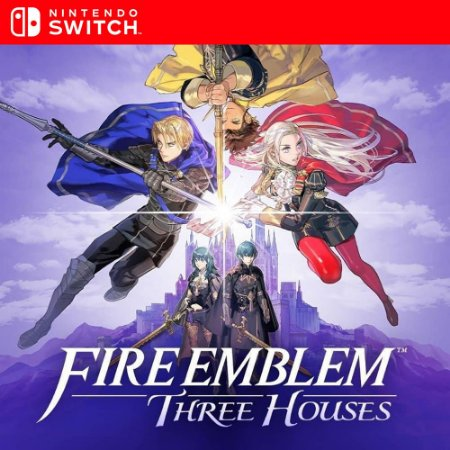 Fire Emblem Three Houses - Nintendo Switch Mídia Digital
