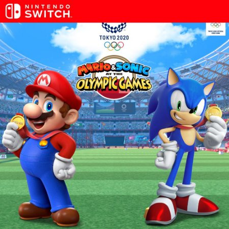 Mario & Sonic at the Olympic Games Tokyo 2020 - Nintendo Switch Mídia Digital
