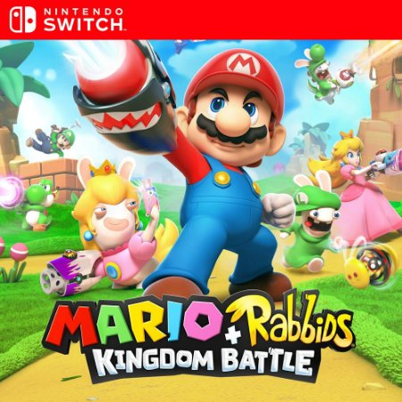 Mario + Rabbids Kingdom Battle - Nintendo Switch Mídia Digital