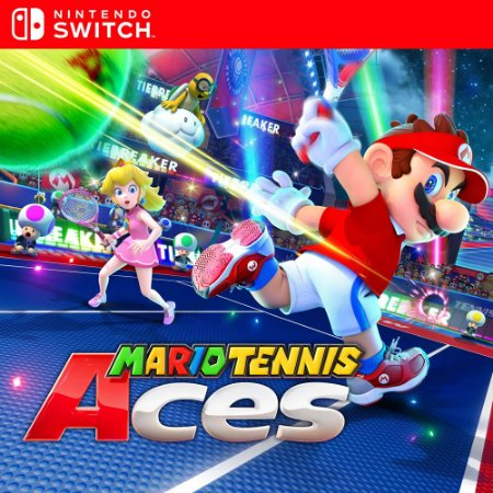 Mario Tennis Aces - Nintendo Switch Mídia Digital