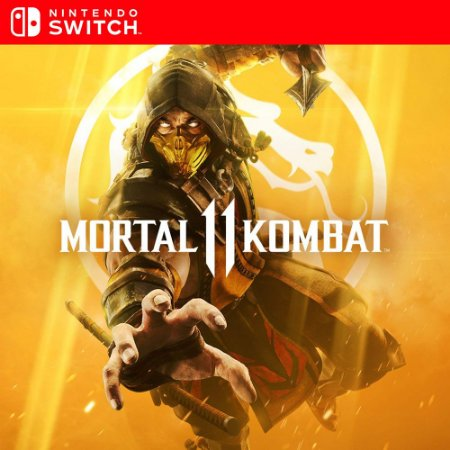 Mortal Kombat 11 - Nintendo Switch Mídia Digital