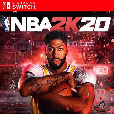 NBA 2K20 - Nintendo Switch Mídia Digital