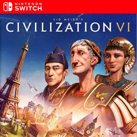 Sid Meier's Civilization VI - Nintendo Switch Mídia Digital