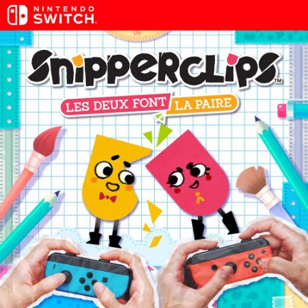 Snipperclips - Cut it out, together! - Nintendo Switch Mídia Digital