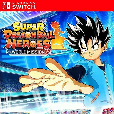 Super Dragon Ball Heroes: World Mission - Nintendo Switch Mídia Digital