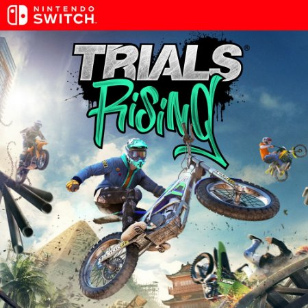Trials Rising - Nintendo Switch Mídia Digital