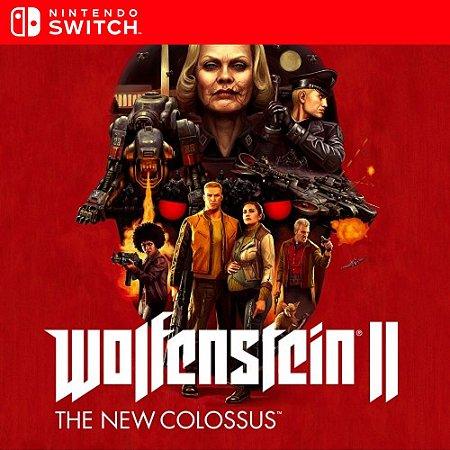 Wolfenstein II The New Colossus - Nintendo Switch Mídia Digital