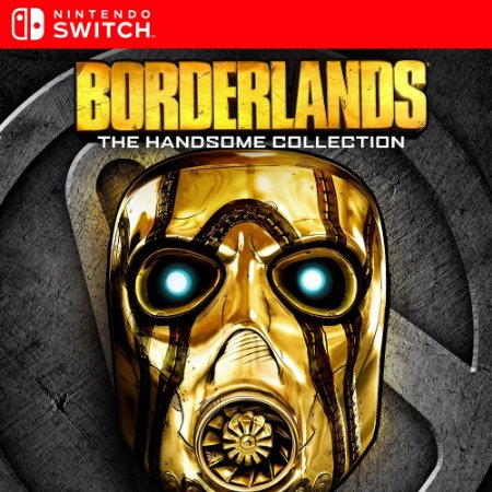 Borderlands The Handsome Collection - Nintendo Switch Mídia Digital