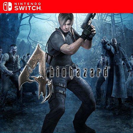 Resident Evil 4 - Nintendo Switch Mídia Digital