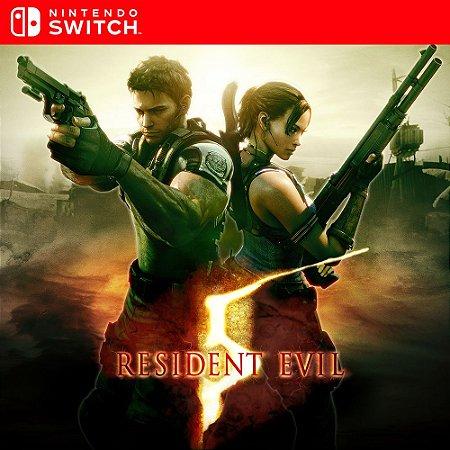Resident Evil 5 - Nintendo Switch Mídia Digital
