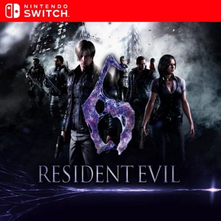 Resident Evil 6 - Nintendo Switch Mídia Digital