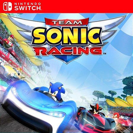Team Sonic Racing - Nintendo Switch Mídia Digital