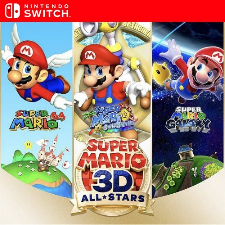 Super Mario 3D All-Stars - Nintendo Switch Mídia Digital