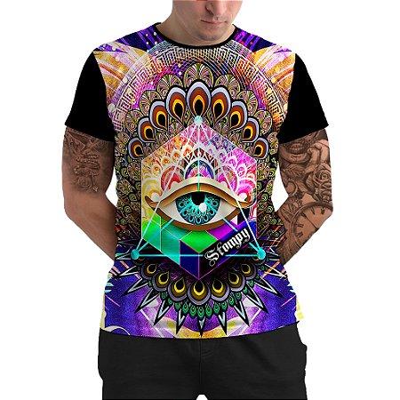 Stompy Camiseta Psicodelica Rave Trippy 03
