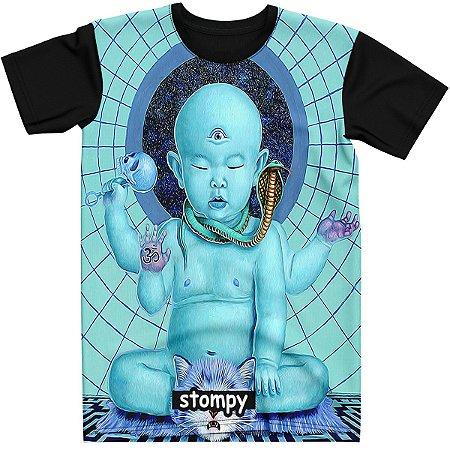 Stompy Camiseta Psicodelica Rave Trippy 20