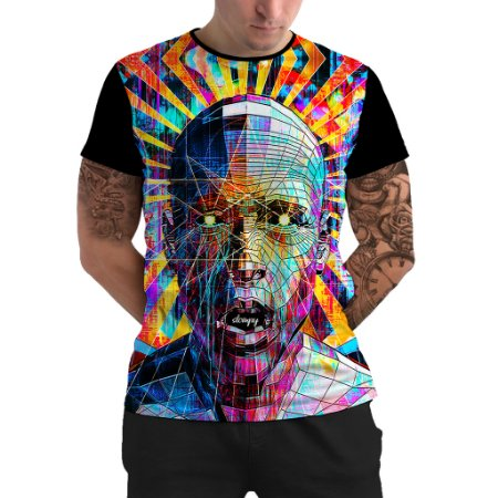 Stompy Camiseta Psicodelica Rave Trippy 64