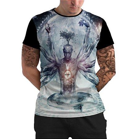 Stompy Camiseta Psicodelica Rave Trippy 68