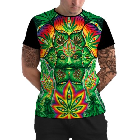 Stompy Camiseta Psicodelica Rave Trippy 69