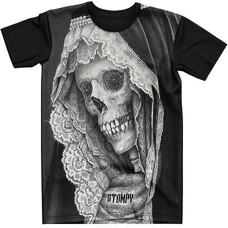 Stompy Camiseta Tattoo Tatuagem Skull Caveira 05