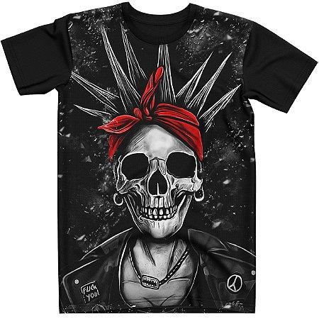 Stompy Camiseta Tattoo Tatuagem Skull Caveira 10
