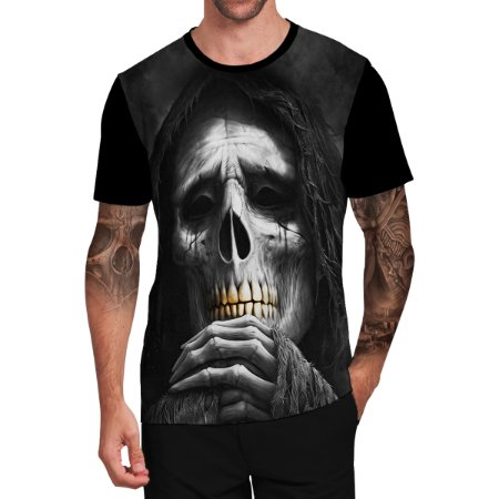 Stompy Camiseta Tattoo Tatuagem Skull Caveira 13