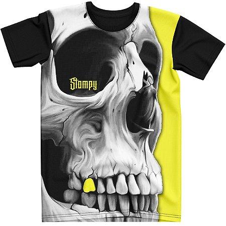 Stompy Camiseta Tattoo Tatuagem Skull Caveira 15