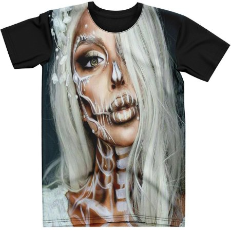 Stompy Camiseta Tattoo Tatuagem Skull Caveira 23