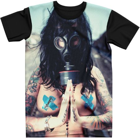Stompy Camiseta Tattoo Tatuagem Skull Caveira 25