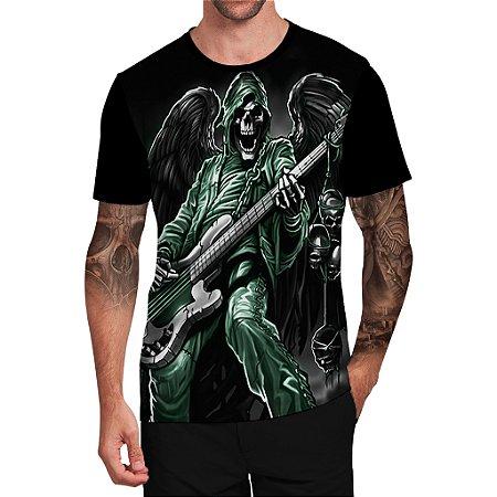 Stompy Camiseta Tattoo Tatuagem Skull Caveira 26