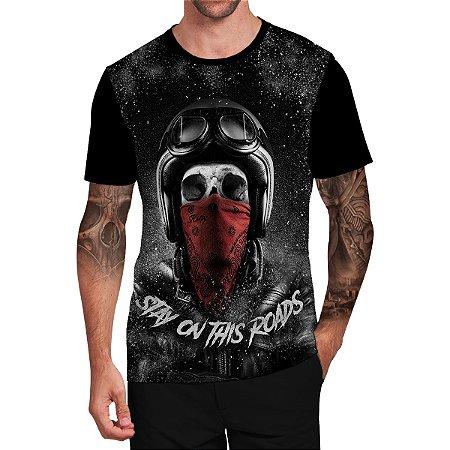 Stompy Camiseta Tattoo Tatuagem Skull Caveira 33