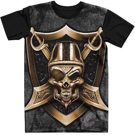 Stompy Camiseta Tattoo Tatuagem Skull Caveira 34