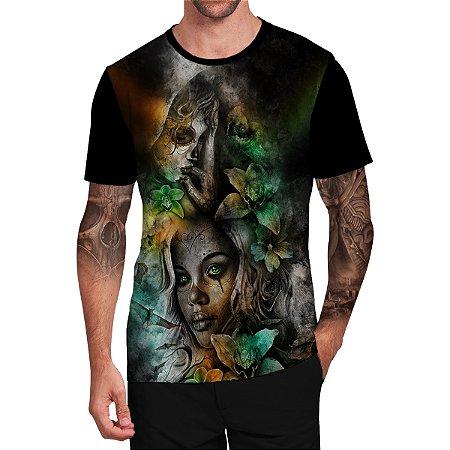 Stompy Camiseta Tattoo Tatuagem Skull Caveira 36