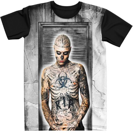 Stompy Camiseta Tattoo Tatuagem Skull Caveira 47