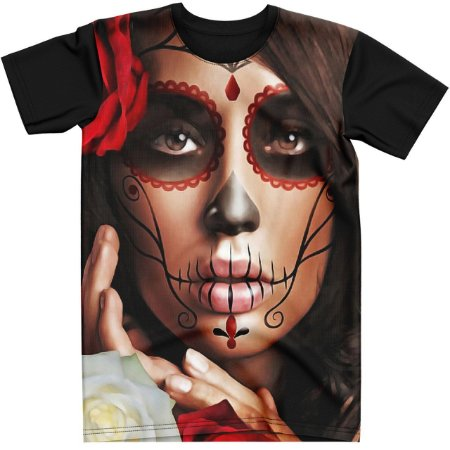 Stompy Camiseta Tattoo Tatuagem Skull Caveira 49