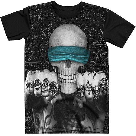Stompy Camiseta Tattoo Tatuagem Skull Caveira 53