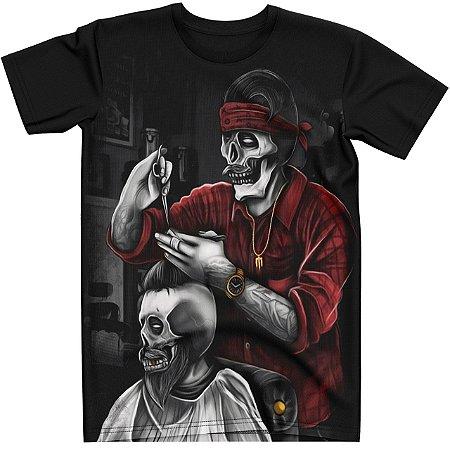 Stompy Camiseta Tattoo Tatuagem Skull Caveira 61
