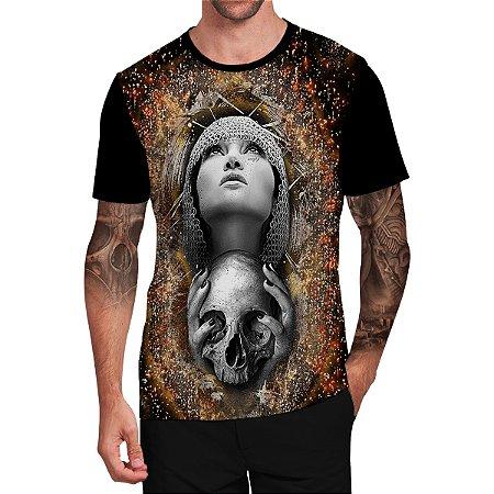 Stompy Camiseta Tattoo Tatuagem Skull Caveira 85