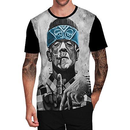 Stompy Camiseta Tattoo Tatuagem Skull Caveira 94