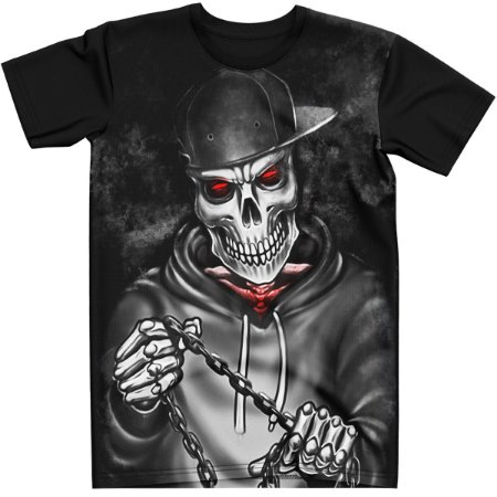 Stompy Camiseta Tattoo Tatuagem Skull Caveira 98