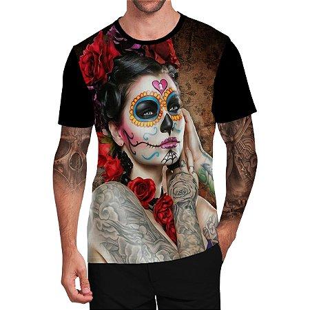 Stompy Camiseta Tattoo Tatuagem Skull Caveira 99