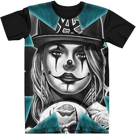 Stompy Camiseta Tattoo Tatuagem Skull Caveira 112