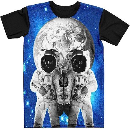 Stompy Camiseta Tattoo Tatuagem Skull Caveira 126