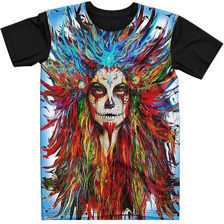 Stompy Camiseta Tattoo Tatuagem Skull Caveira 132