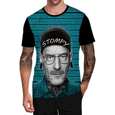 Stompy Camiseta Tattoo Tatuagem Skull Caveira 135