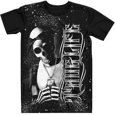Stompy Camiseta Tattoo Tatuagem Skull Caveira 142