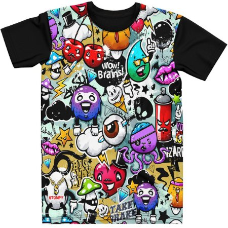 Stompy Camiseta Estampada Exclusiva 120