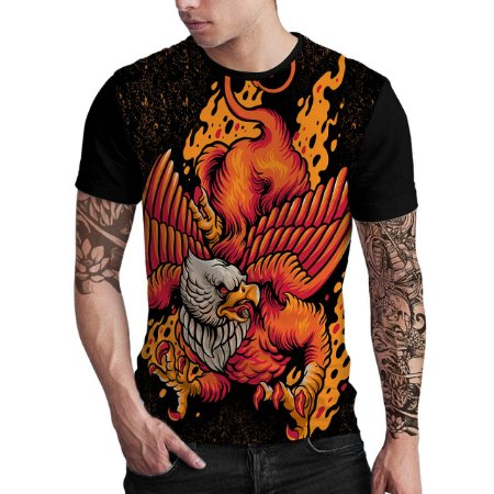 Stompy Camiseta Estampada Fire Eagle